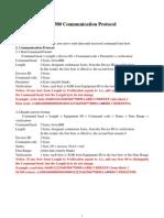 SL500 Communication Protocol