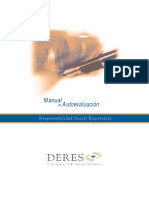 Manual de autoevaluación de RSE