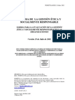 Sistema de la Gestión Etica y Socialmente Responsable - Herramientas de Evaluación - Foretica