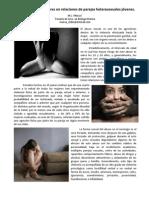 Abuso sexual de mujeres en las relaciones de parejas heterosexuales jóvenes