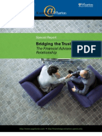 Bridging the Trust Divide - The Advisor - Client Relationship