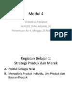 Modul 4 Pemasaran Strategis