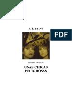 Stine R L - Chicas Peligrosas 01 - Unas Chicas Peligrosas