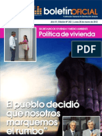 Boletin Oficial Nº 262 - 26de marzo de 2012