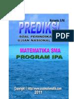 Kumpulan Soal Perindikator Un 2012 IPA