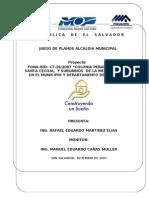 Portada Informe Final y Sub-portadas
