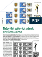 Tlačový list poštových známok (Colné aktuality č. 1-2/2012)