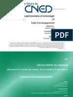 Sciences expérimentales et technique CP ~ Guide