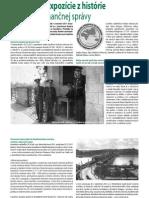 Vytvorenie expozície z histórie colníctva a finančnej správy (Colné aktuality č. 1-2/2012)