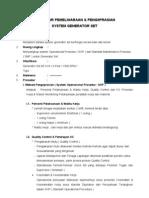 Prosedur Pemeliharaan Dan Pengoprasian Genset 97