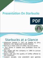 A case study on Starbucks