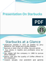 A case study on Starbucks