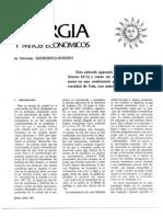 Energia y Mitos Económicos. Georgescu Roegen