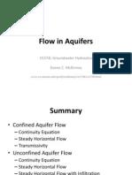 10-Flow in Aquifers