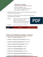 Ml Lecture1 Handouts