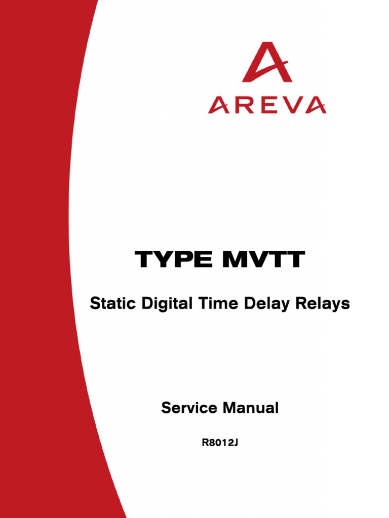 Areva mvtt relay manual relay electrostatic discharge asfbconference2016 Image collections