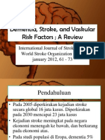 Dementia, Stroke, And Vaskular Risk Factors