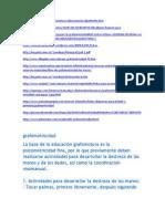 grafomotricidad 2012
