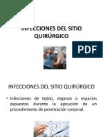 INFECCIONES DEL SITIO QUIRÚRGICO