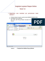 Petunjuk Pengisian Layanan Paspor Online