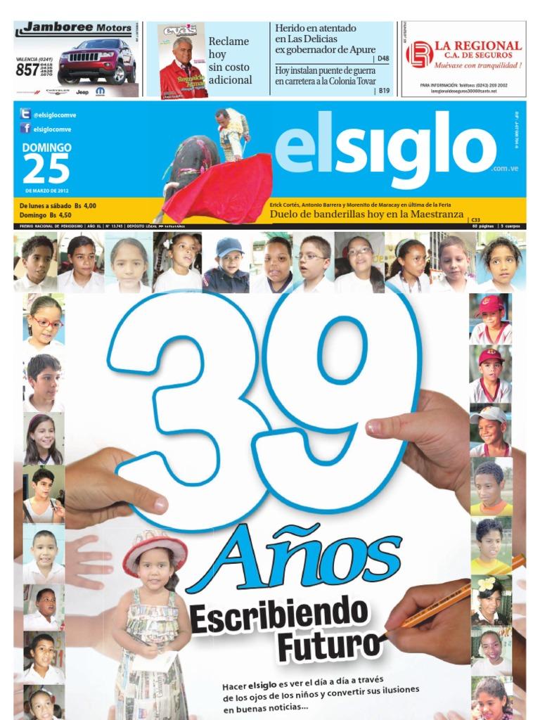 Edicion Domingo 25-03-2012 Aniversaria cff6ba03c2c