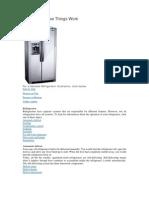 Refrigerator How Things Work