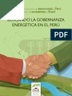 Buscando gobernanza energetica Peru - Brazil, ONG DAR