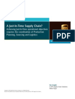 Wp Just-In-time Supply Chain