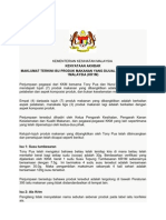 Kenyataan Akhbar Produk 1 Malaysia