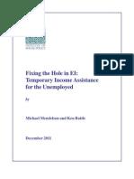 Caledon InstitutePublicPolicy - UnemploymentInsur