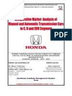 Honda Siel Project Report