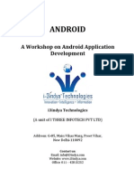 Android Application Development Brochure