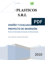 Planta Reciclado - Vaglienti Cassar