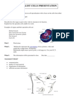 specialist cells presentation