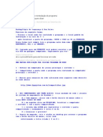 Orientações programa OS