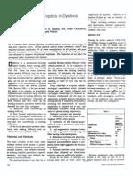 Use of Orthoptics in Dyslexia