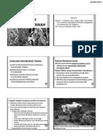 Evaluasi Kesuburan Tanah r