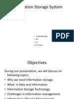 Information Storage System