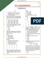 IES OBJ Civil Engineering 2002 Paper II