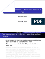 Agri Comm Derivatives