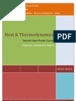 Course Book Thermodynamics