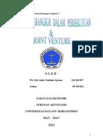 Likuidasi Berangsur & Joint Venture
