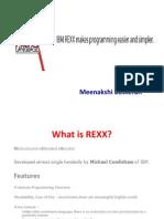 REXX Training