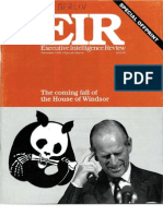 Executive Intelligence Review - The House of Windsor