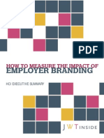 Measure Impact of Employer Branding