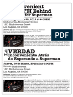 The Inconvenient Truth Behind Waiting for Superman Micheltorena Screening