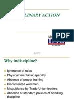 Disciplinary Action New