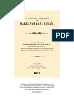 Das Markandeya Purana - Deutsche Übersetzung