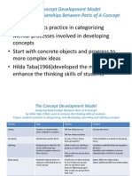 Mat 520 Concept Development Model