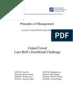 Principle of Management. Case Study